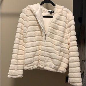 White Fluff Jacket